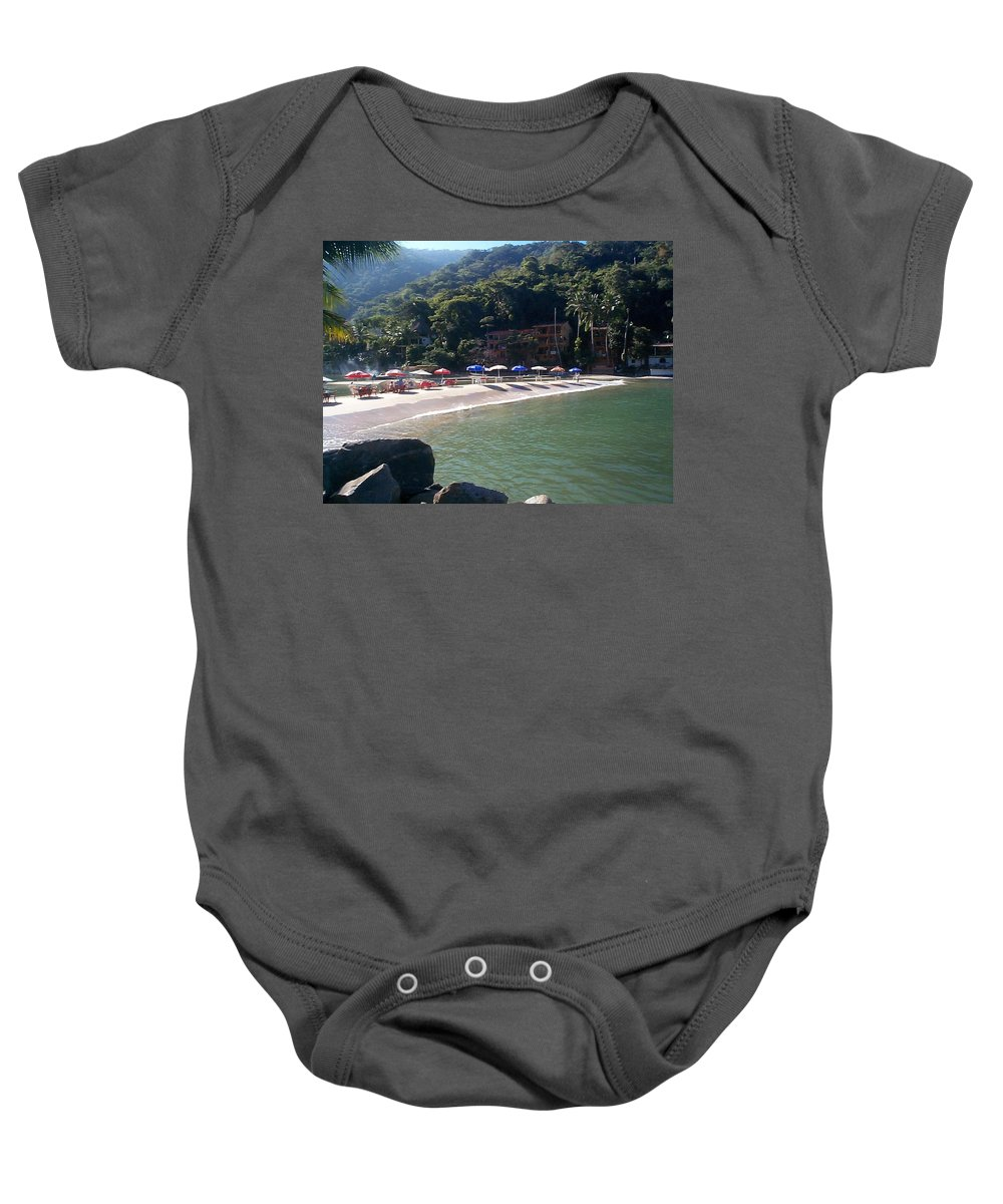 Mexico Baby Onesie featuring the photograph Pv 2 by Kimberly Maxwell Grantier
