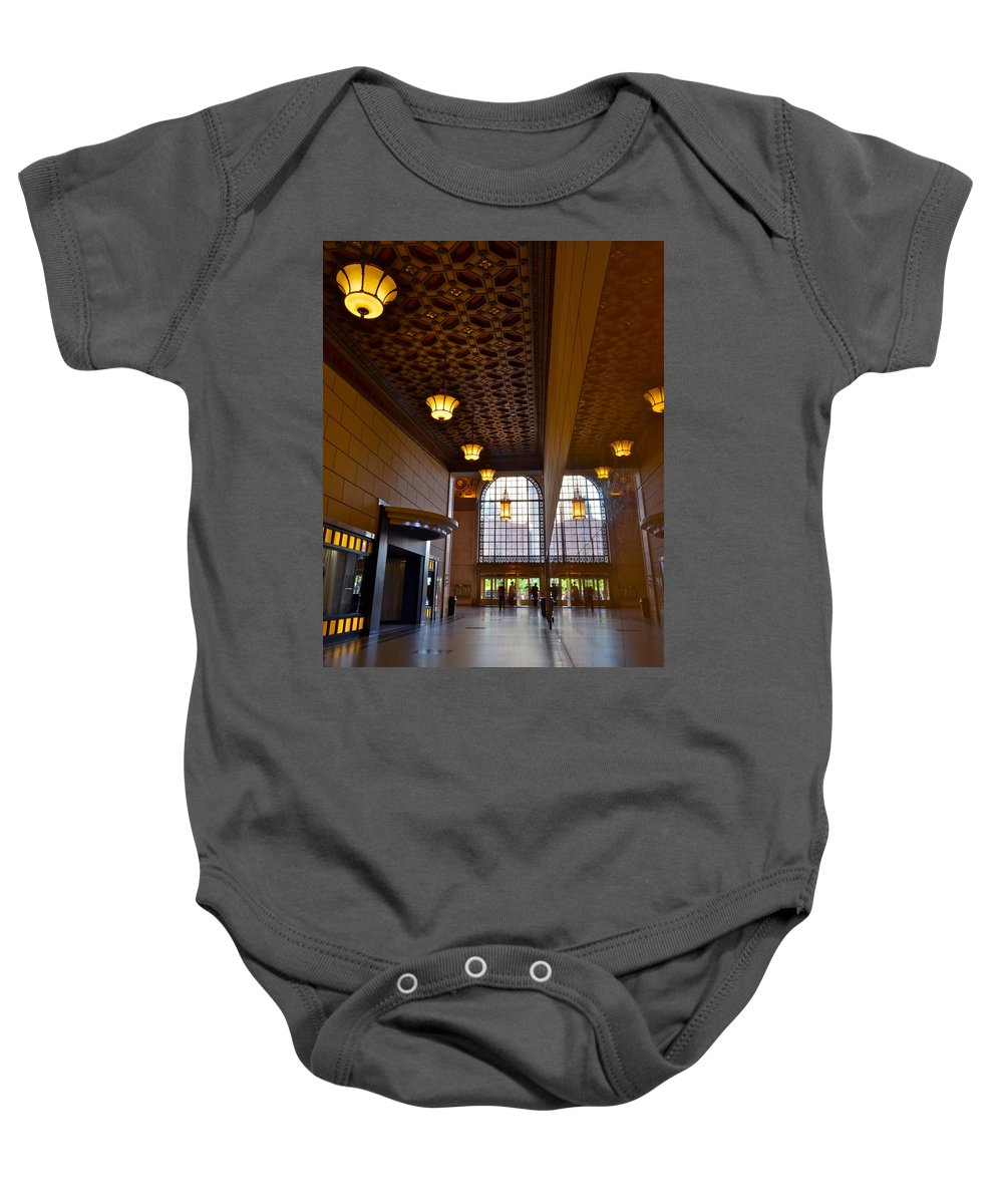 Reflection Baby Onesie featuring the photograph Reflections by Frozen in Time Fine Art Photography