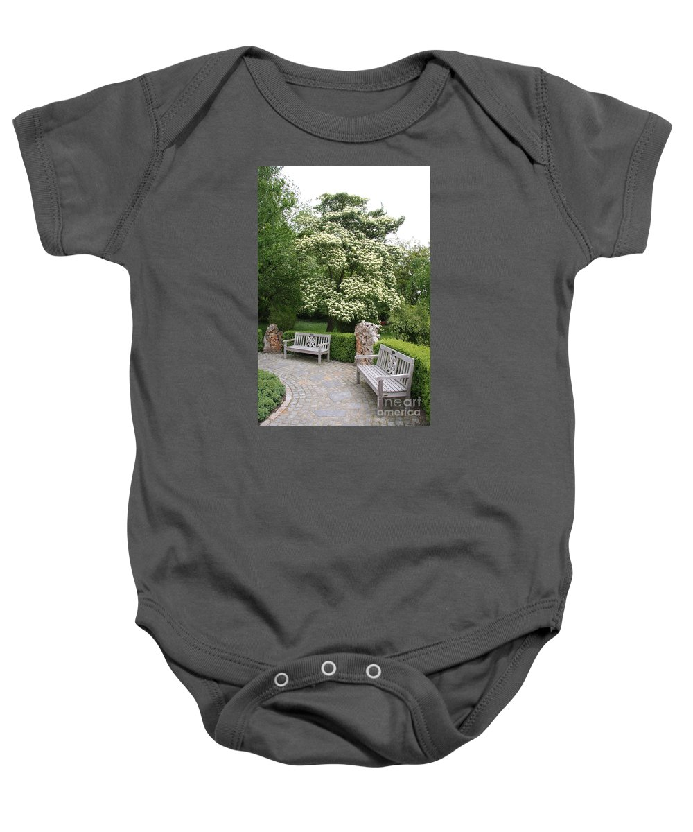 Park Baby Onesie featuring the photograph Relax In The Park by Christiane Schulze Art And Photography