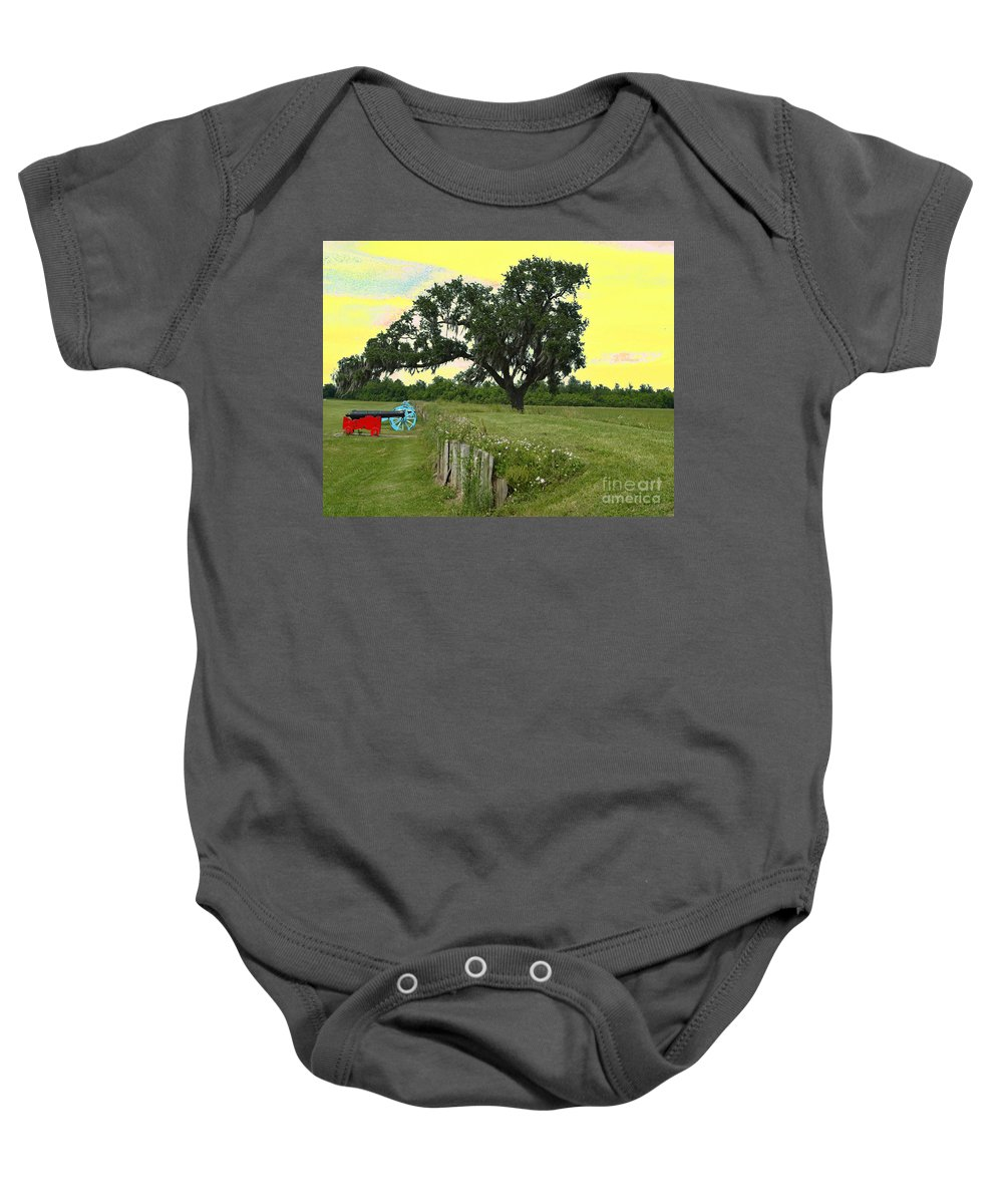Battle Of New Orleans Baby Onesie featuring the digital art Rest In Peace 2 by Alys Caviness-Gober
