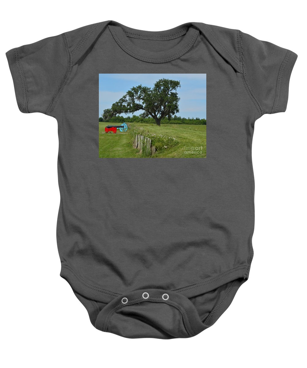 Battle Of New Orleans Baby Onesie featuring the photograph Rest In Peace by Alys Caviness-Gober