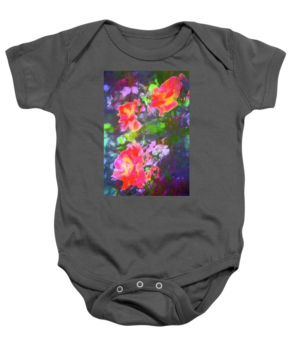 Floral Baby Onesie featuring the photograph Rose 192 by Pamela Cooper