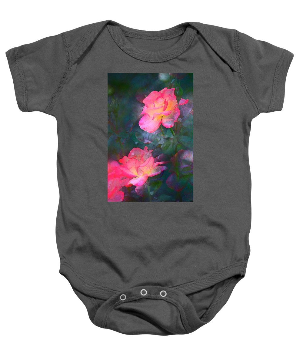 Floral Baby Onesie featuring the photograph Rose 194 by Pamela Cooper