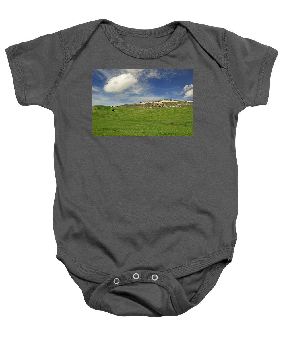 Plants Baby Onesie featuring the photograph Rural Beauty At Andalusia by Guido Montanes Castillo