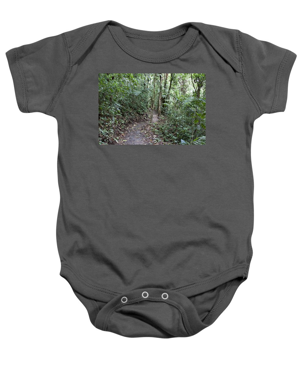 Curve Baby Onesie featuring the photograph S Curve by Jean Macaluso