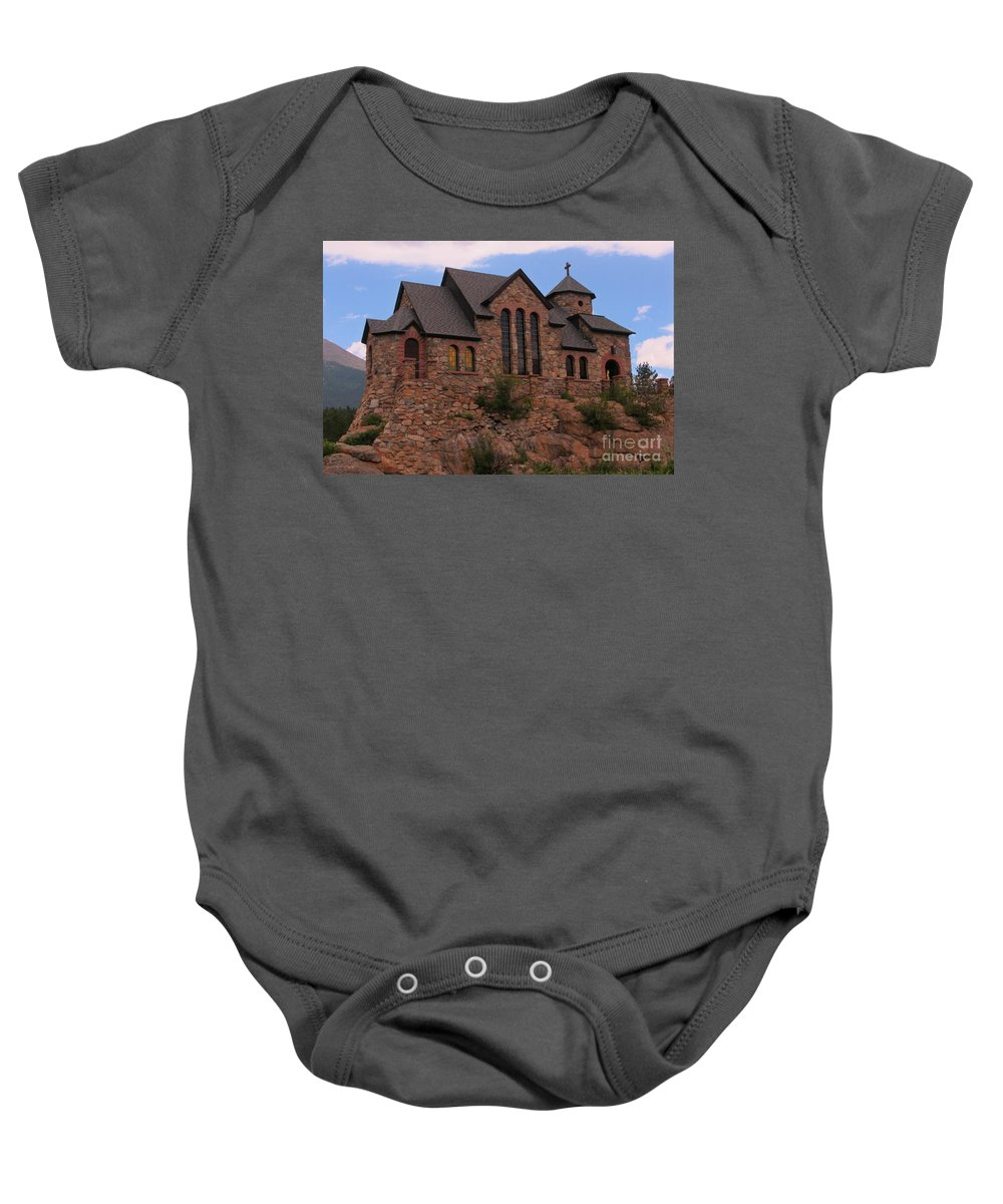 Church Art Baby Onesie featuring the photograph Saint Catherine Of Siena Chapel by John Malone