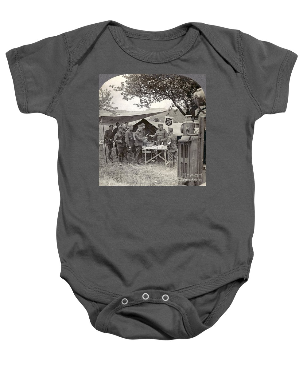 1918 Baby Onesie featuring the photograph Salvation Army At Front by Granger