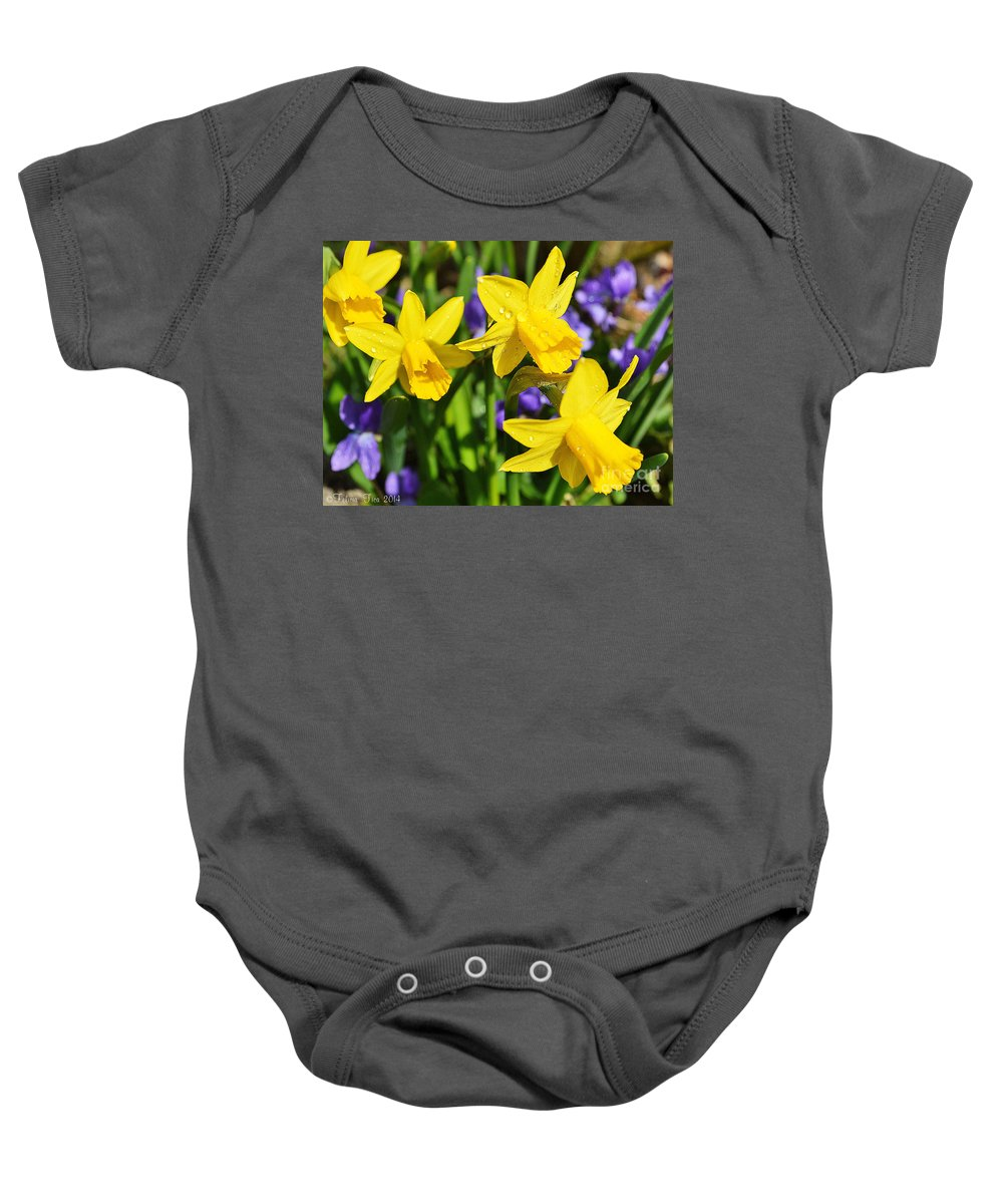 Flower Baby Onesie featuring the photograph Scent Harmony by Felicia Tica