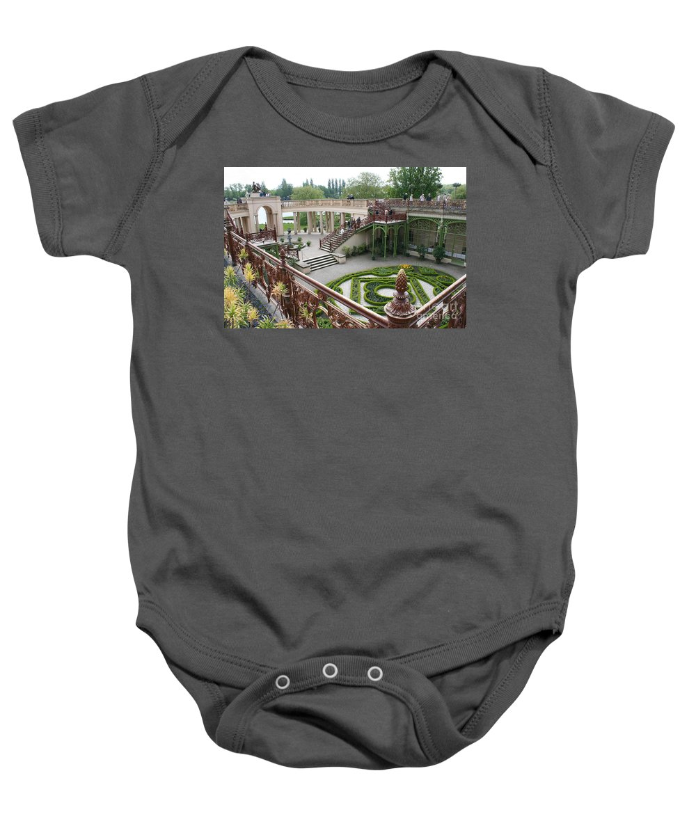Schwerin Baby Onesie featuring the photograph Schwerin The Orangery by Christiane Schulze Art And Photography
