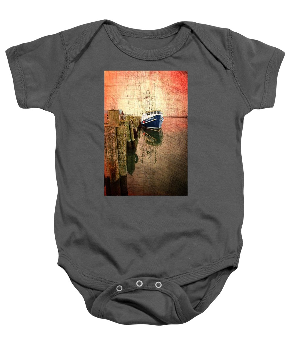 Boat Baby Onesie featuring the photograph Second Wind by Alice Gipson