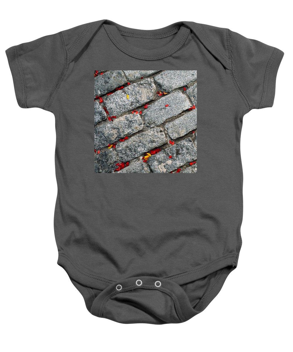 Digital Baby Onesie featuring the photograph Sidewalk by Rick Mosher