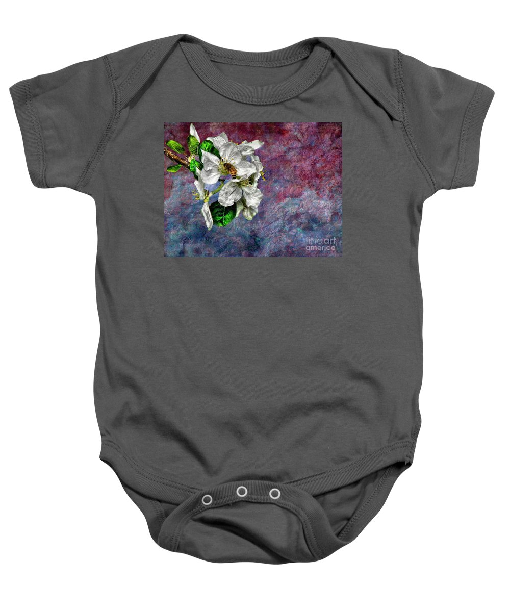 Bee Baby Onesie featuring the photograph Signs Of Spring by Andrea Kollo