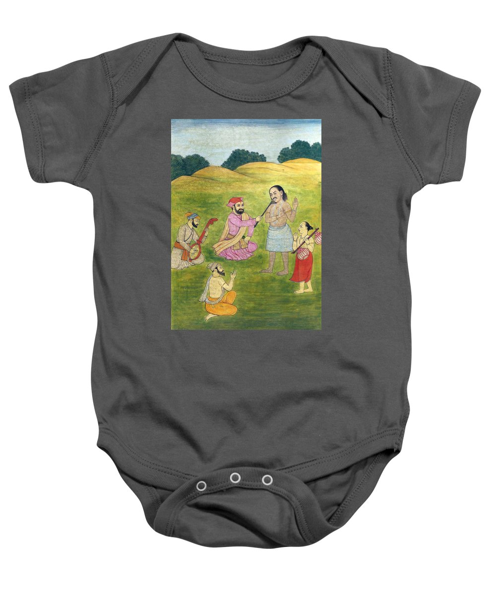 Sikh Baby Onesie featuring the photograph Sikh Painting by Munir Alawi