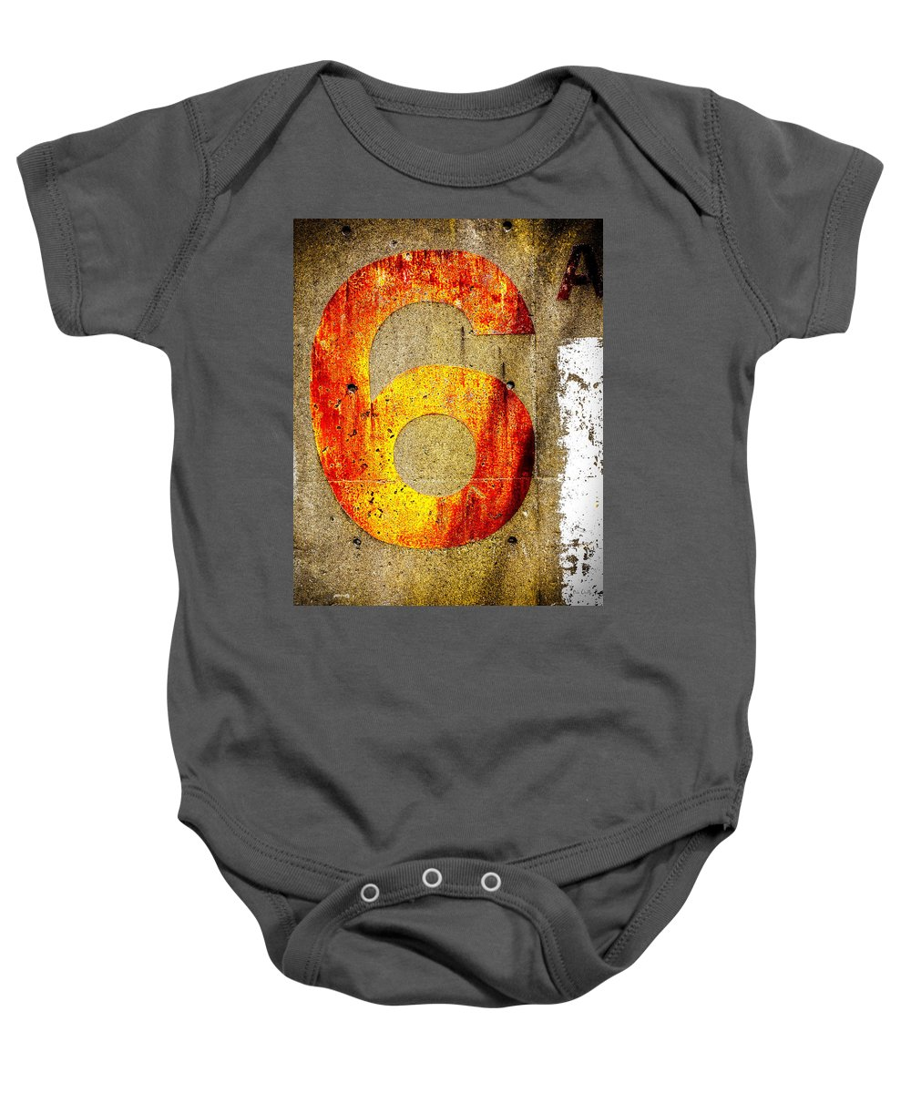 Six Baby Onesie featuring the photograph Six by Bob Orsillo