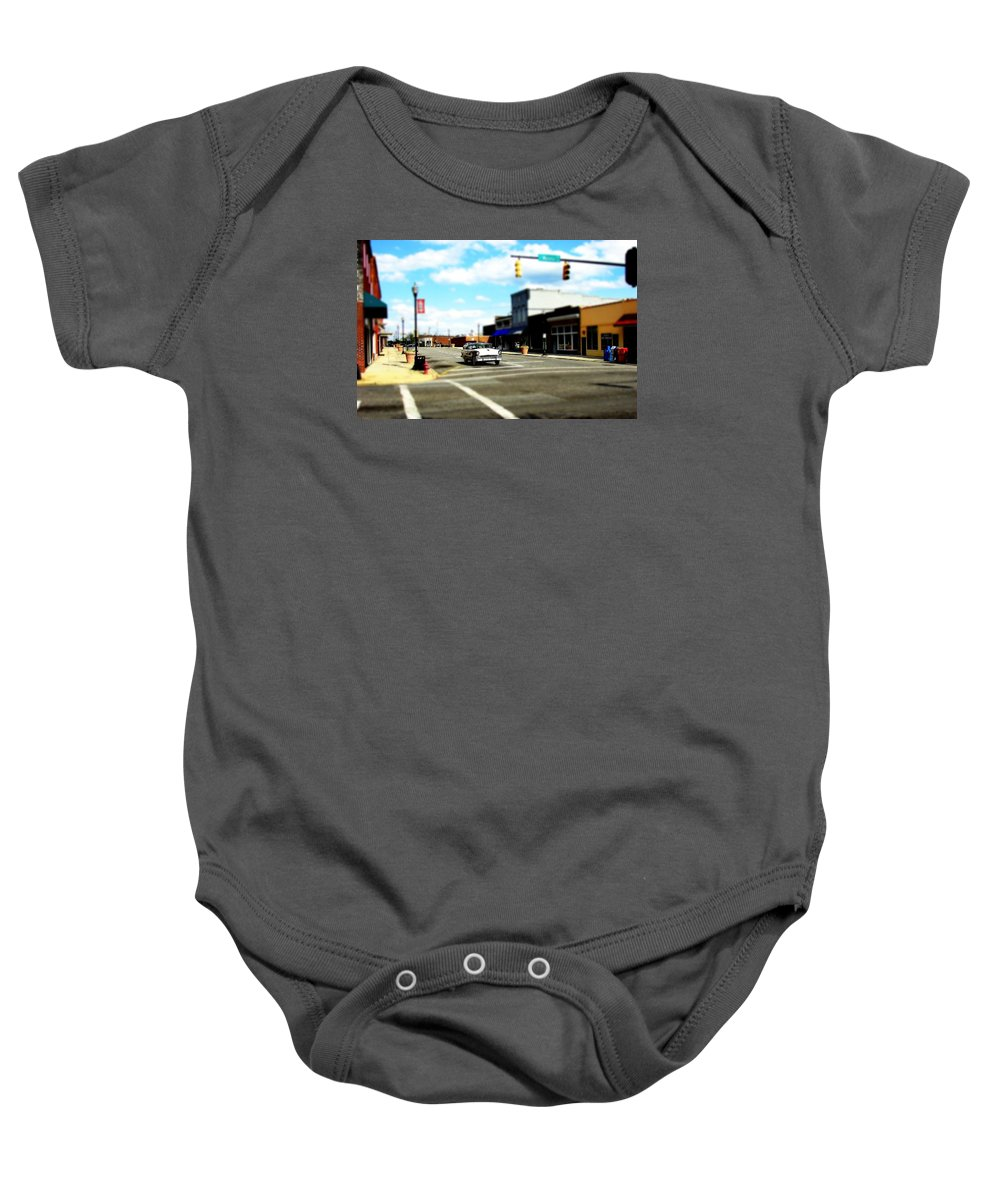 Fine Art Baby Onesie featuring the photograph Small Town 3 by Rodney Lee Williams