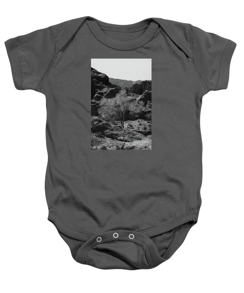 Small Baby Onesie featuring the photograph Small Tree by Kathleen Struckle