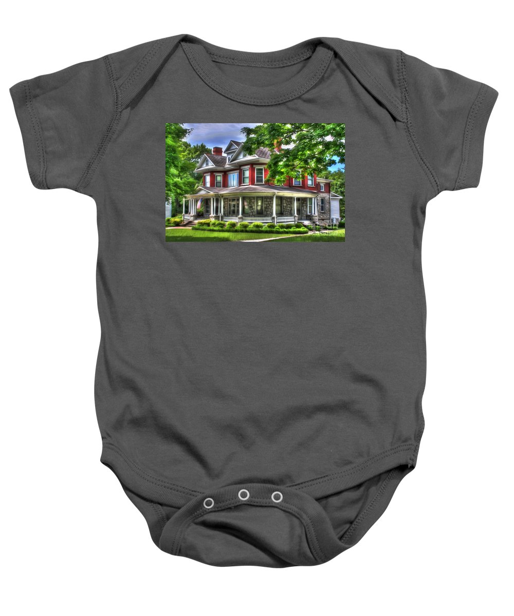 Estate Baby Onesie featuring the photograph Southern Charm by Dan Stone