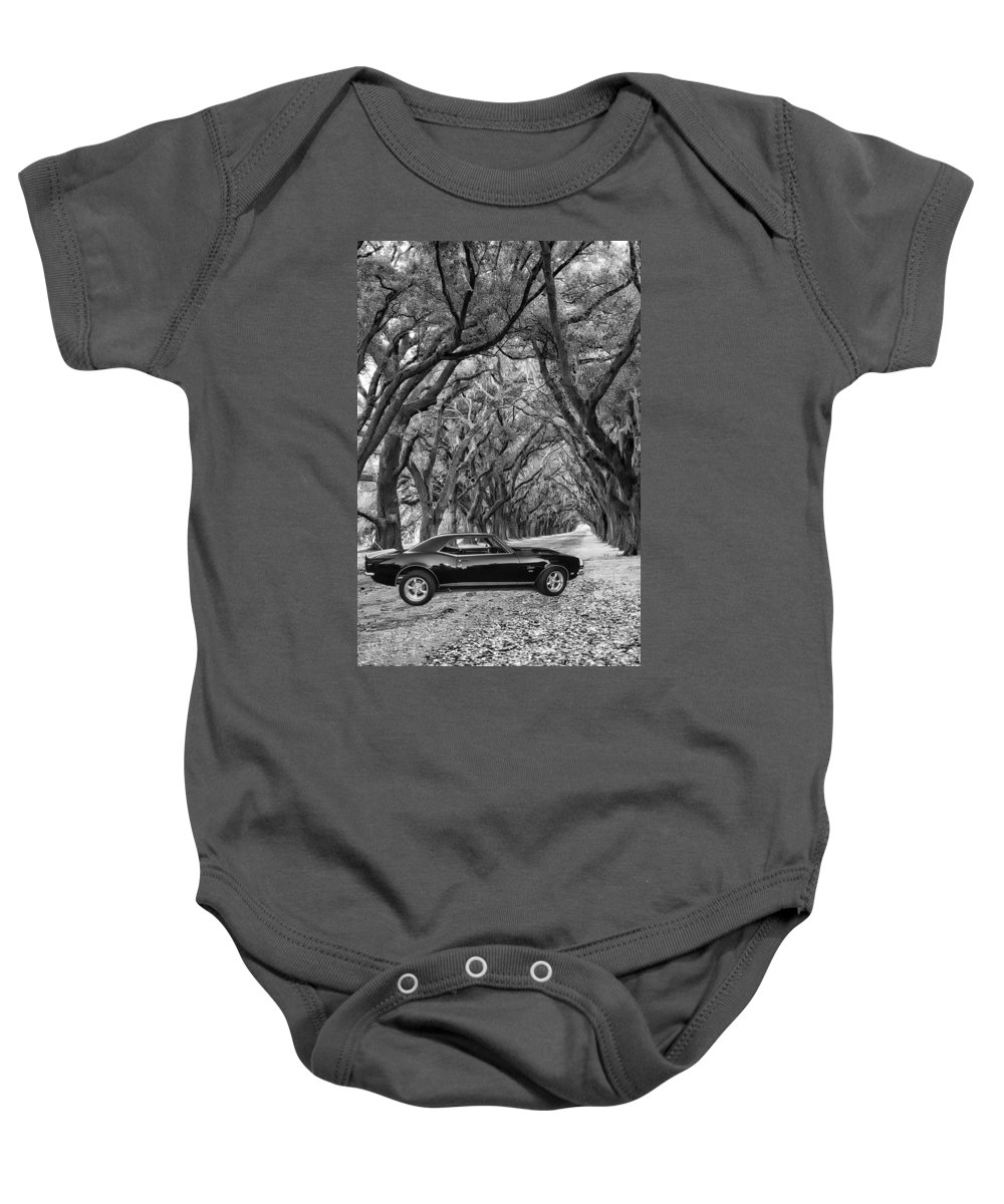 1969 Baby Onesie featuring the photograph Southern Muscle by Steve Harrington