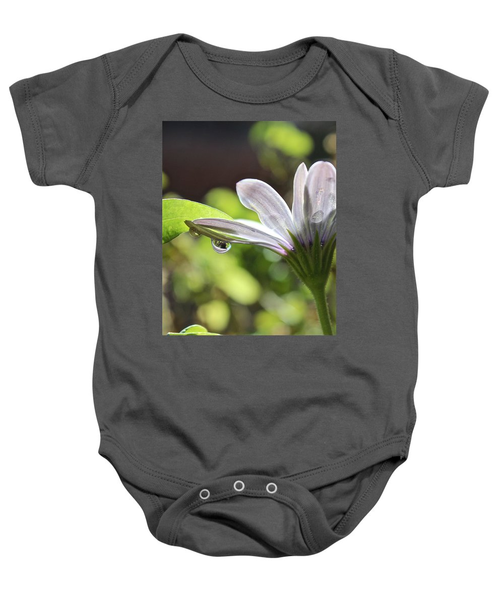 Spring Baby Onesie featuring the photograph Spring Flower by Kume Bryant