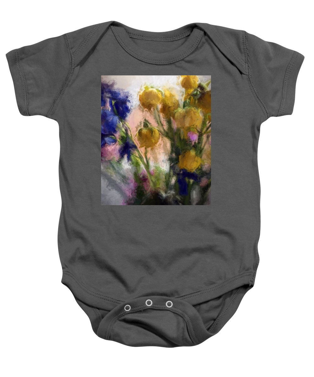 Flowers Baby Onesie featuring the photograph Spring Love Viii by Tina Baxter