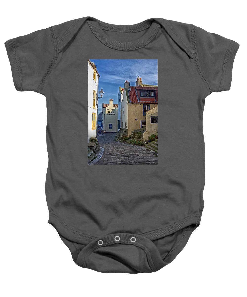 Staithes Baby Onesie featuring the photograph Staithes by David Pringle