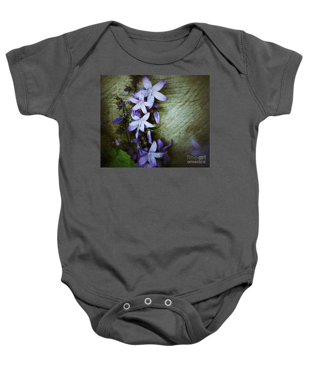Star Flowers Baby Onesie featuring the photograph Star Climbers by Joan-Violet Stretch