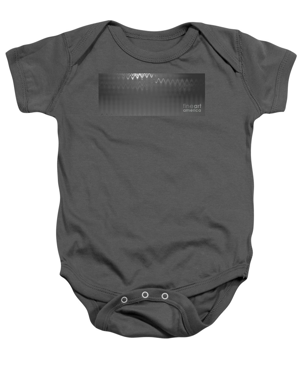 Monochrome Baby Onesie featuring the photograph Steel by Anita Lewis