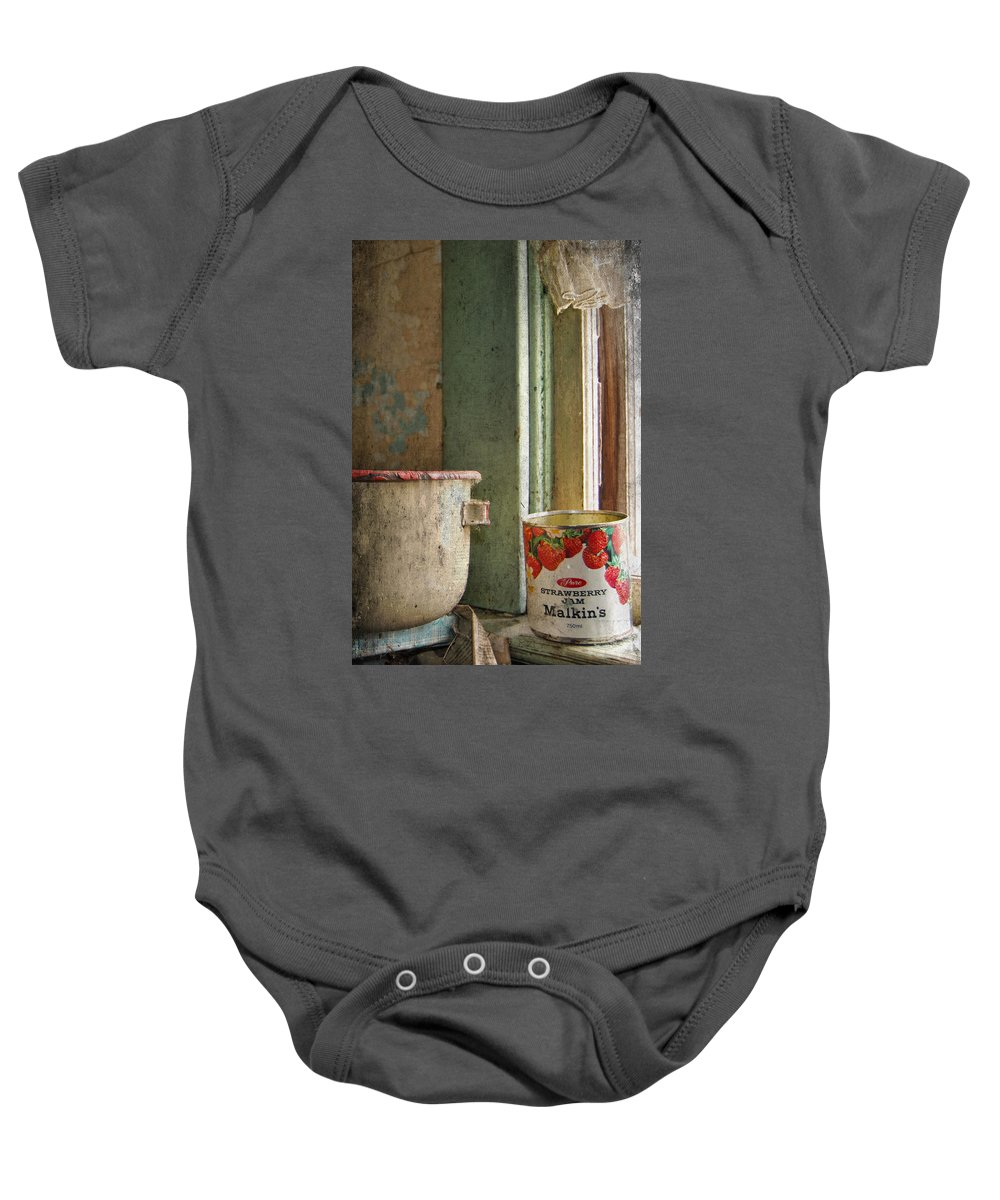 Strawberry Jam Baby Onesie featuring the photograph Strawberry Jam by The Artist Project