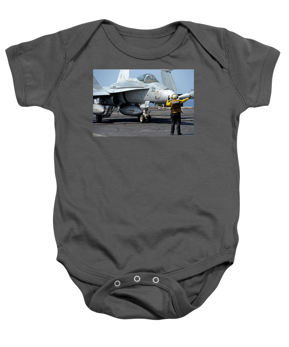 Ship Baby Onesie featuring the photograph Strength by Mountain Dreams