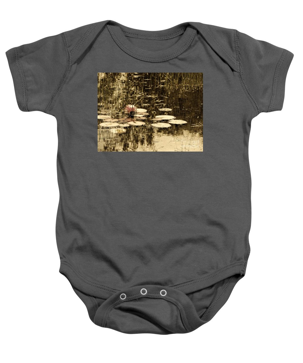 Marcia Lee Jones Baby Onesie featuring the photograph Summer Afternoon by Marcia Lee Jones