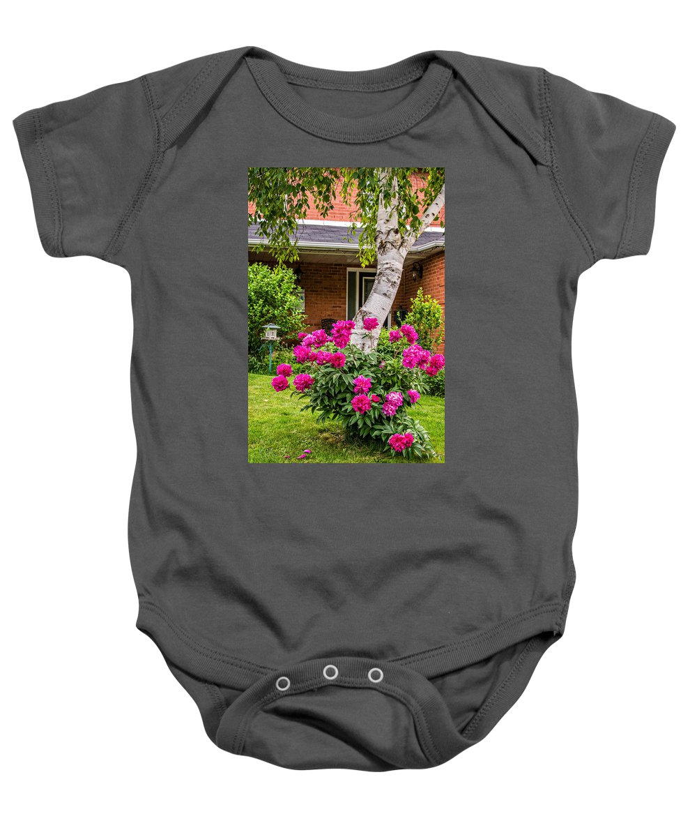 Bolton Baby Onesie featuring the photograph Symbiotic Beauty by Steve Harrington