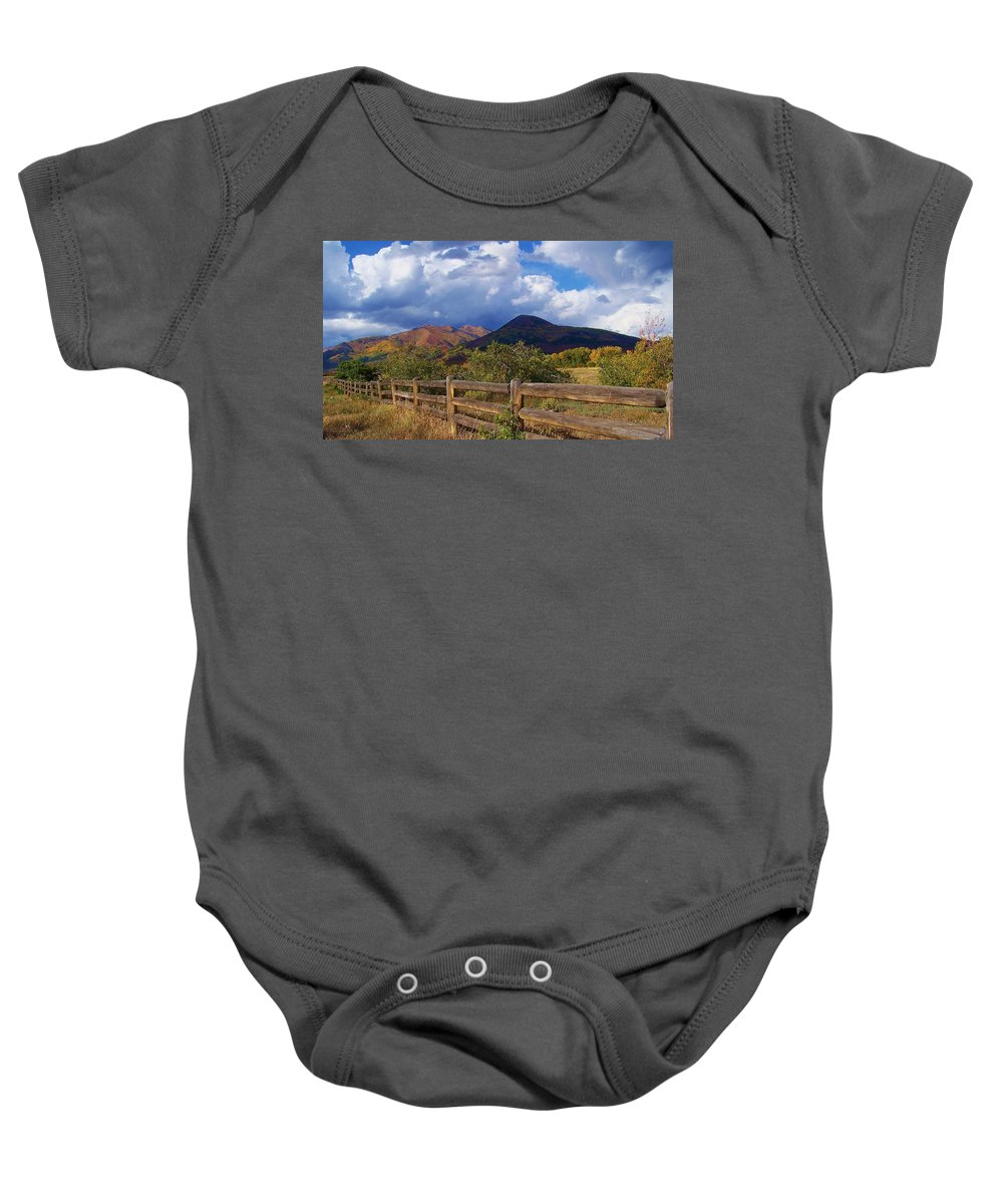 Mountains Baby Onesie featuring the photograph Take Me Here by Jewell McChesney
