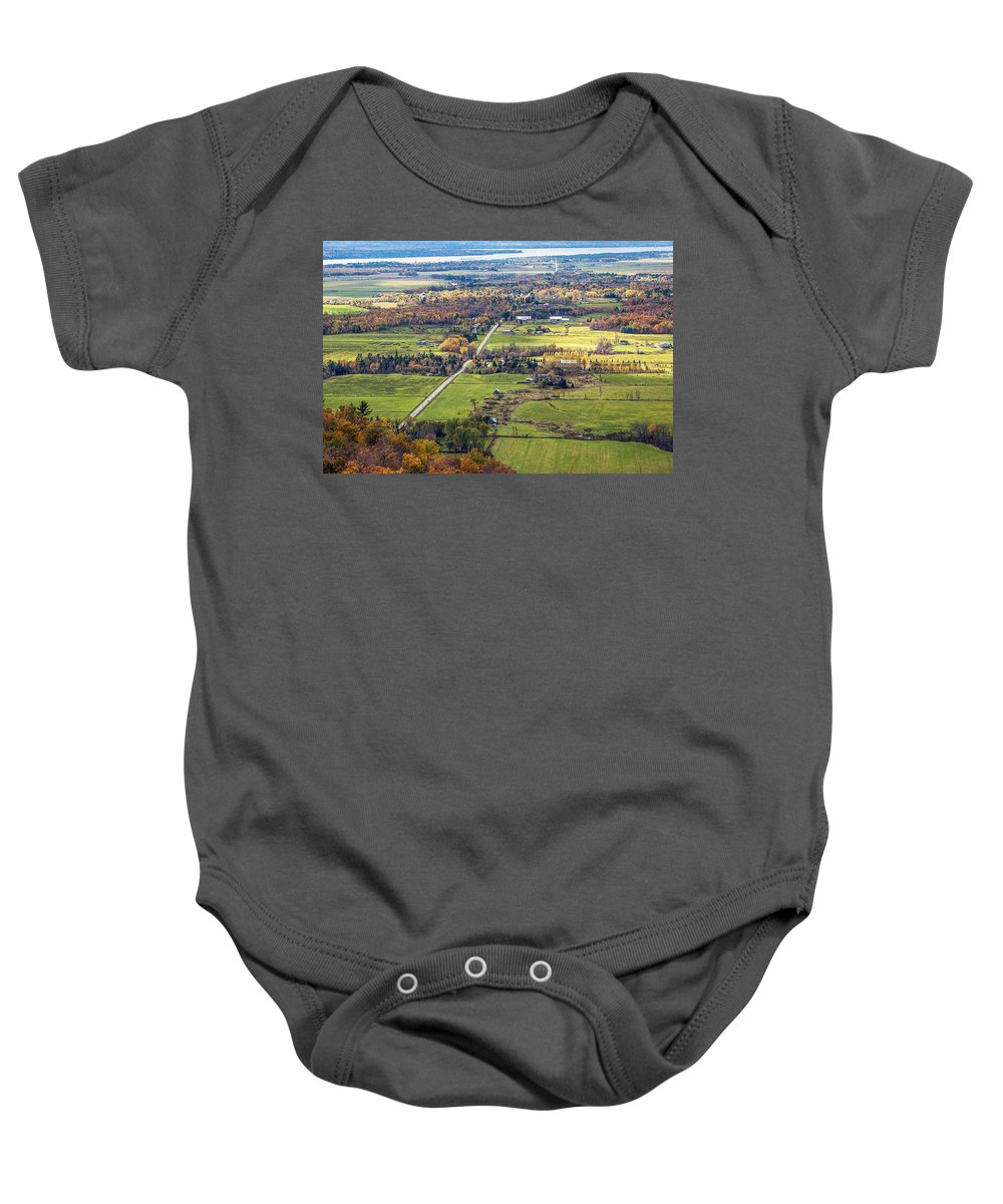 Autumn Baby Onesie featuring the photograph Take Me Home by Joseph Yvon Cote