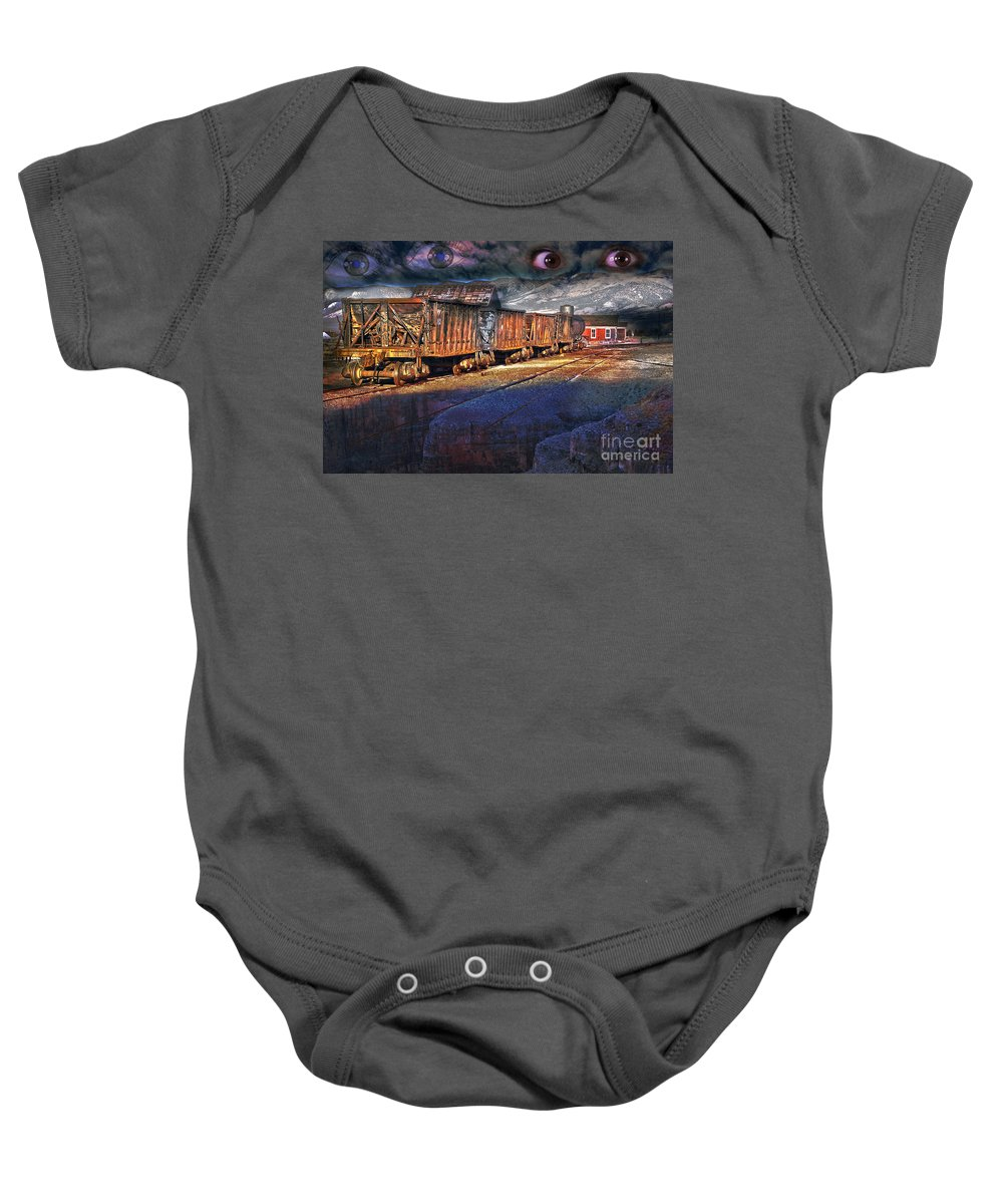 Fairy Baby Onesie featuring the photograph The Last Shipment by Gunter Nezhoda