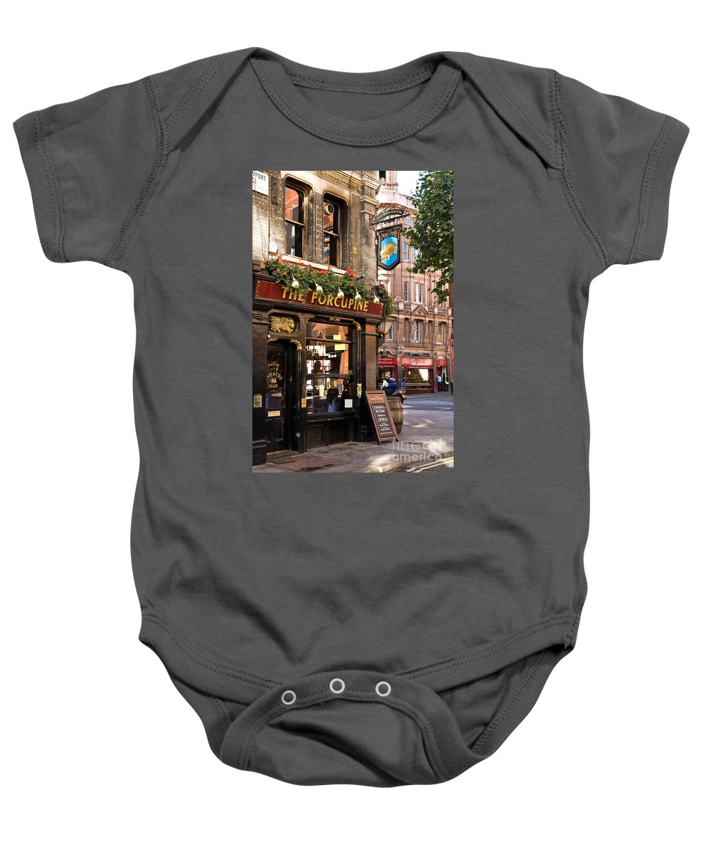 London Baby Onesie featuring the photograph The Porcupine by Rick Piper Photography