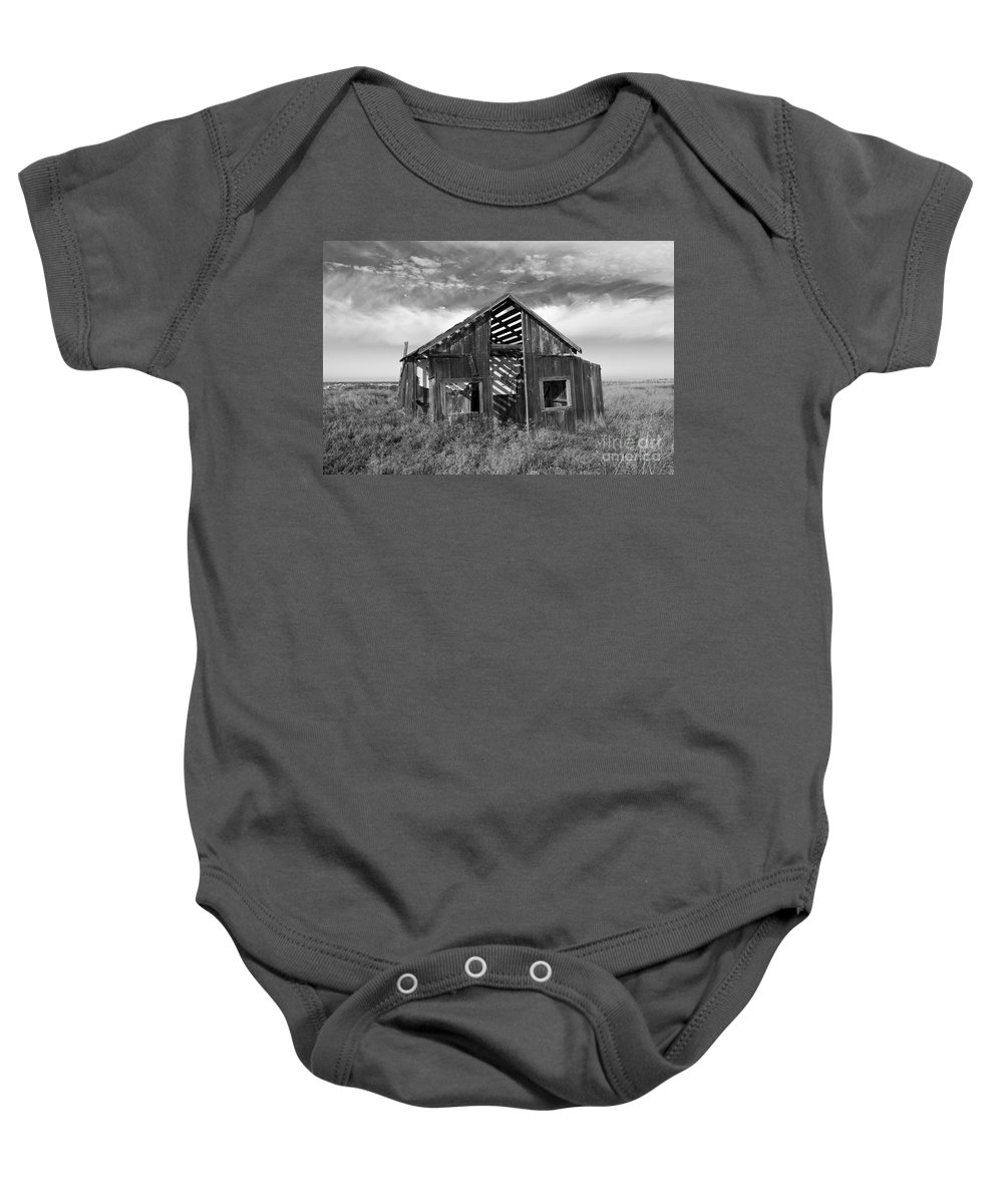 Ghost Town Baby Onesie featuring the photograph The Recreation by Rick Pisio
