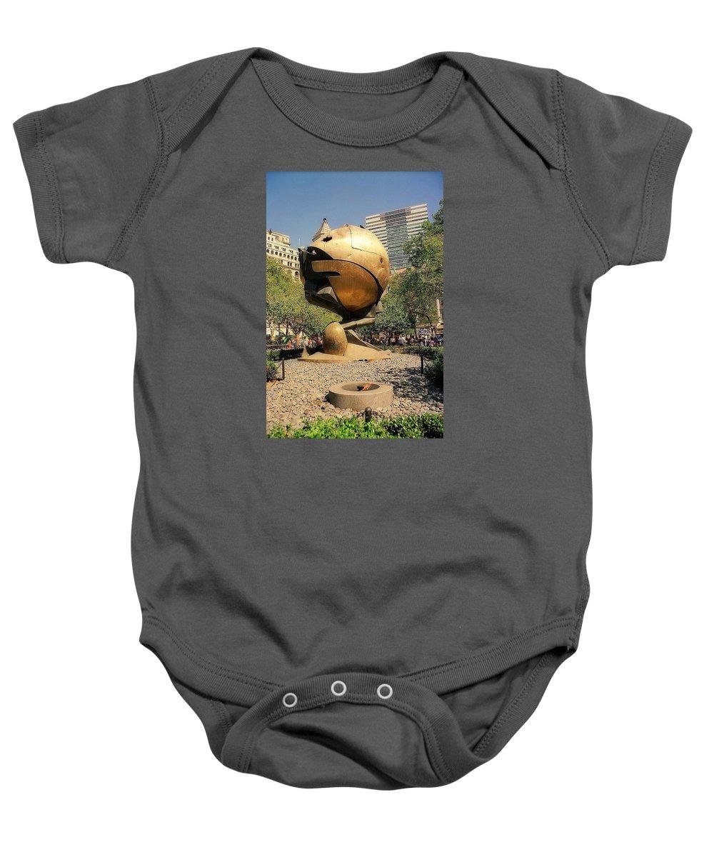 Art Baby Onesie featuring the photograph The Sphere by John Schneider