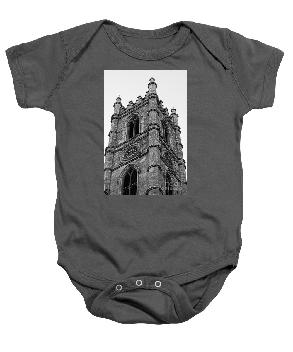 Montreal Baby Onesie featuring the photograph The Tower by Bianca Nadeau