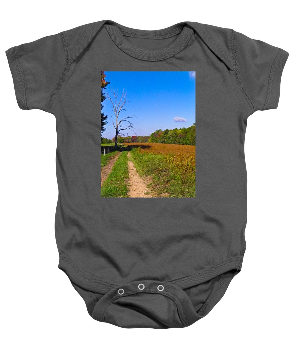 Dead Baby Onesie featuring the photograph The Tree by Nick Kirby