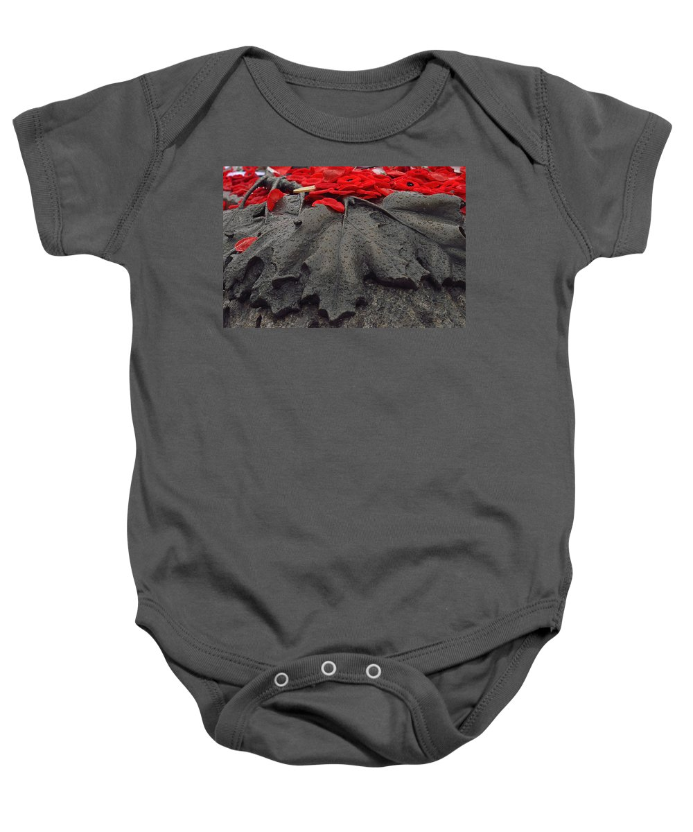 Remembrance Day Baby Onesie featuring the photograph The Unknown Soldier by Joshua McCullough