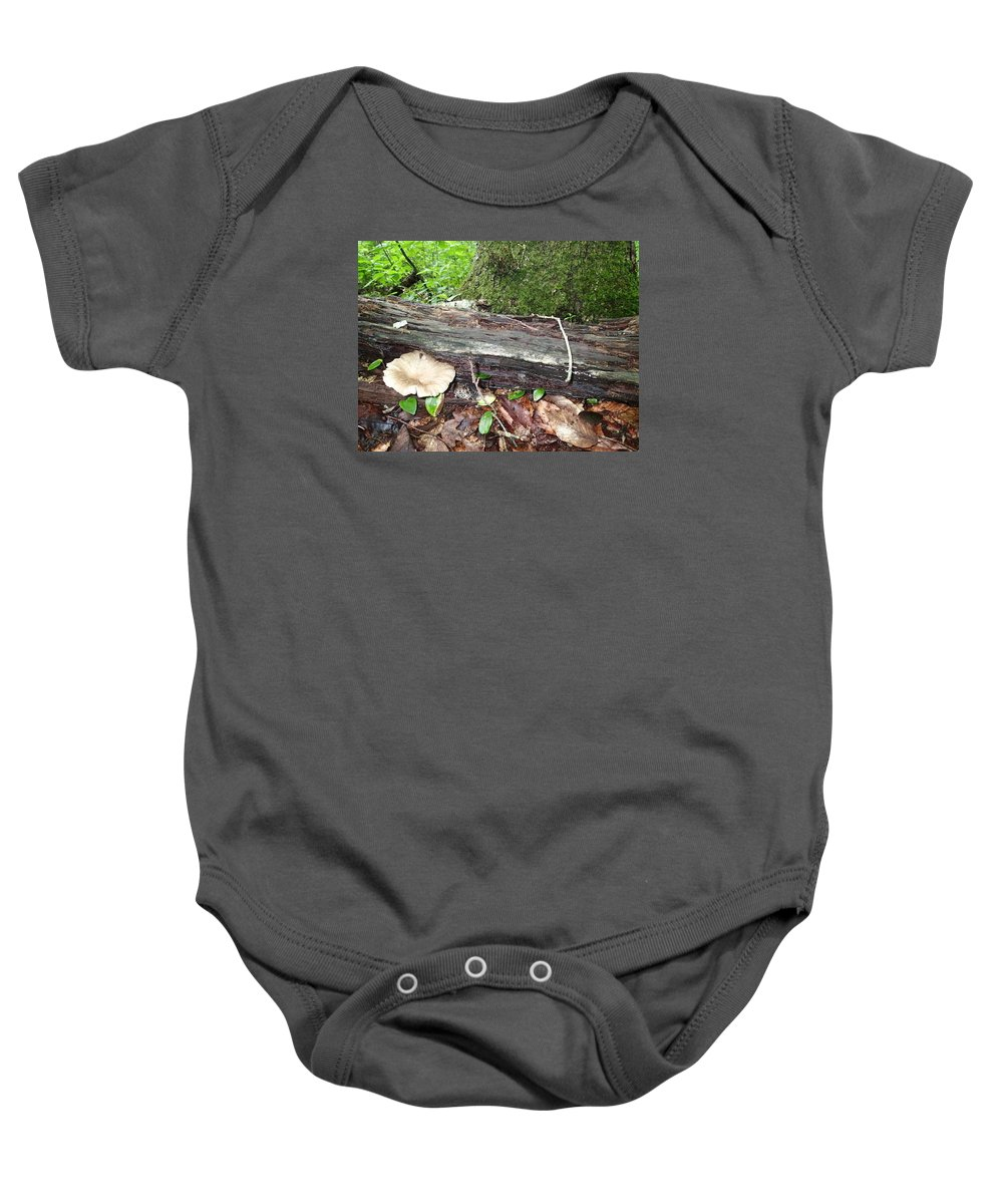 Toad Baby Onesie featuring the photograph Toad 1 by Robert Nickologianis