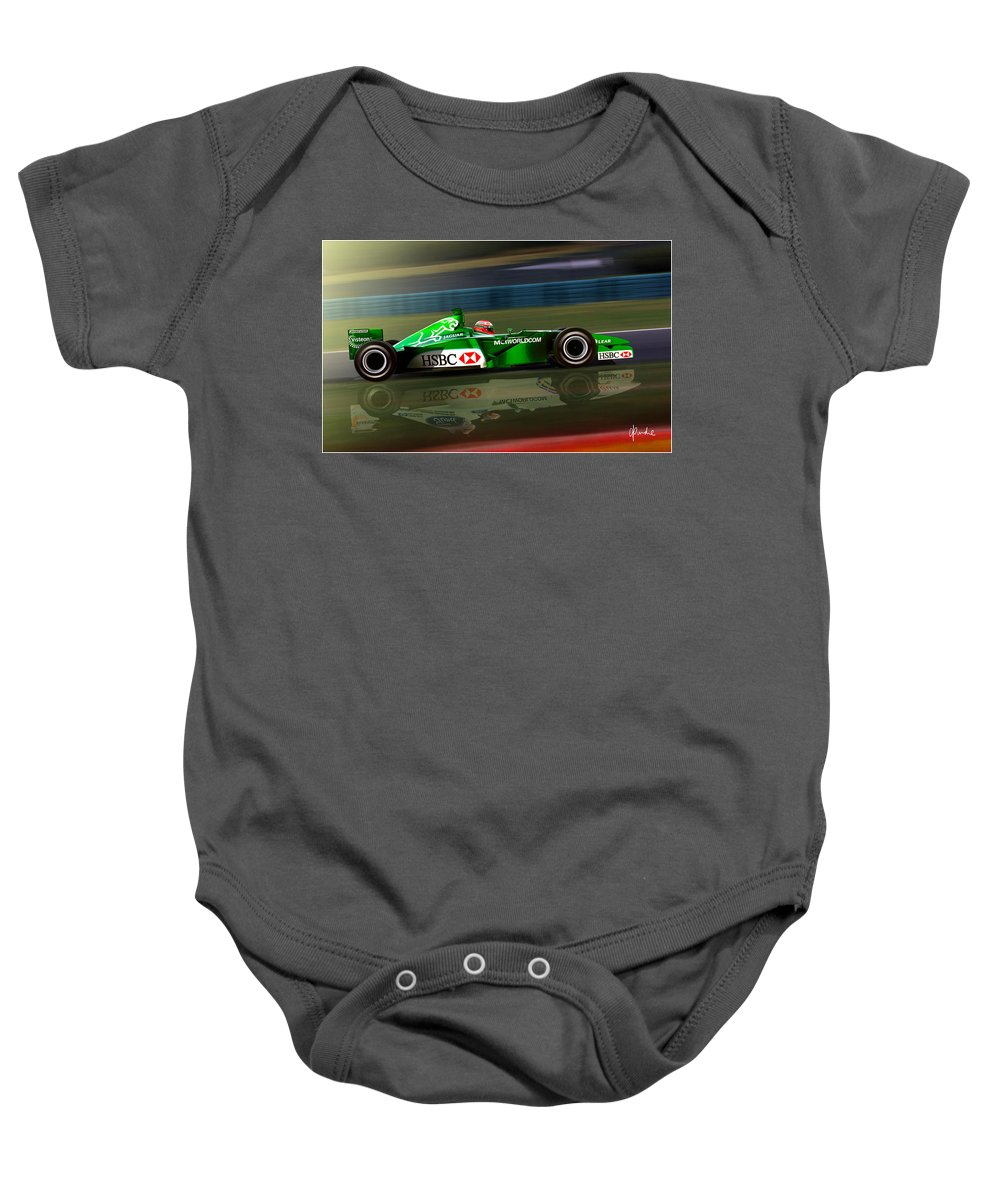 F1 Baby Onesie featuring the photograph Transition by Craig Purdie