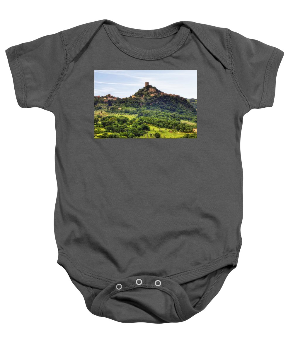 Castiglione D'orcia Baby Onesie featuring the photograph Tuscany - Castiglione D'orcia by Joana Kruse