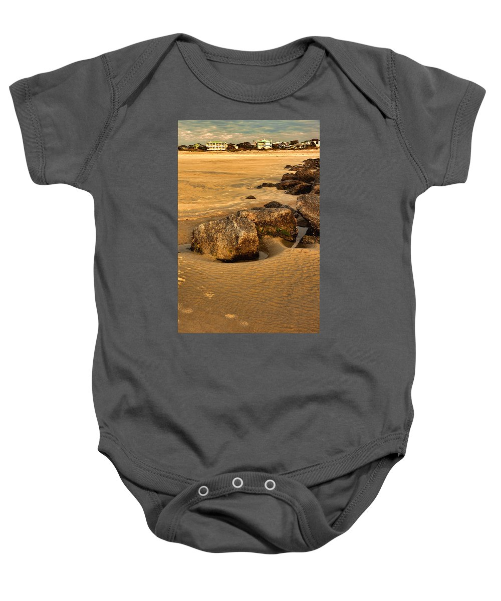Tybee Island Baby Onesie featuring the photograph Tybee Island by Diana Powell
