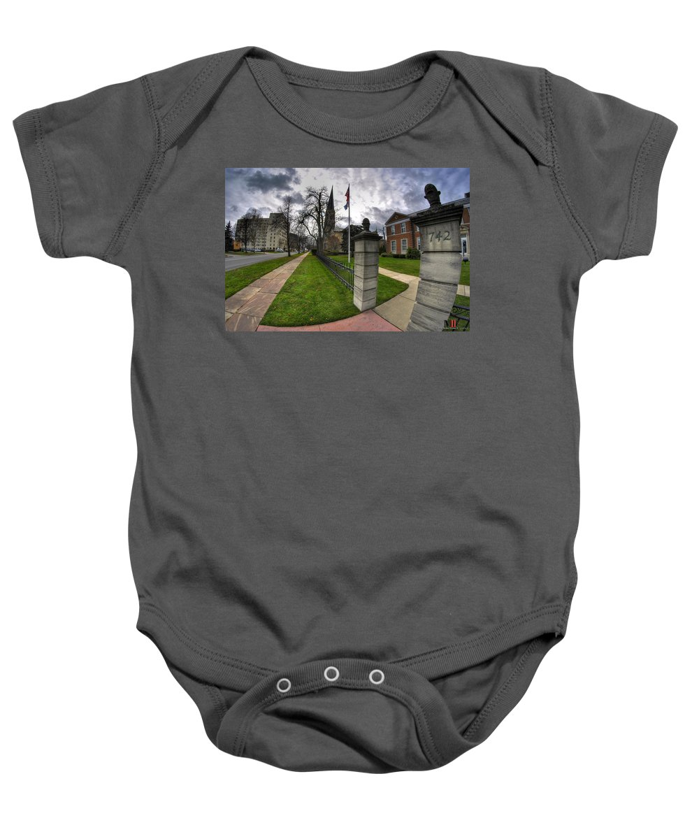 Michael Frank Jr Baby Onesie featuring the photograph United Way Of Buffalo And Erie County by Michael Frank Jr