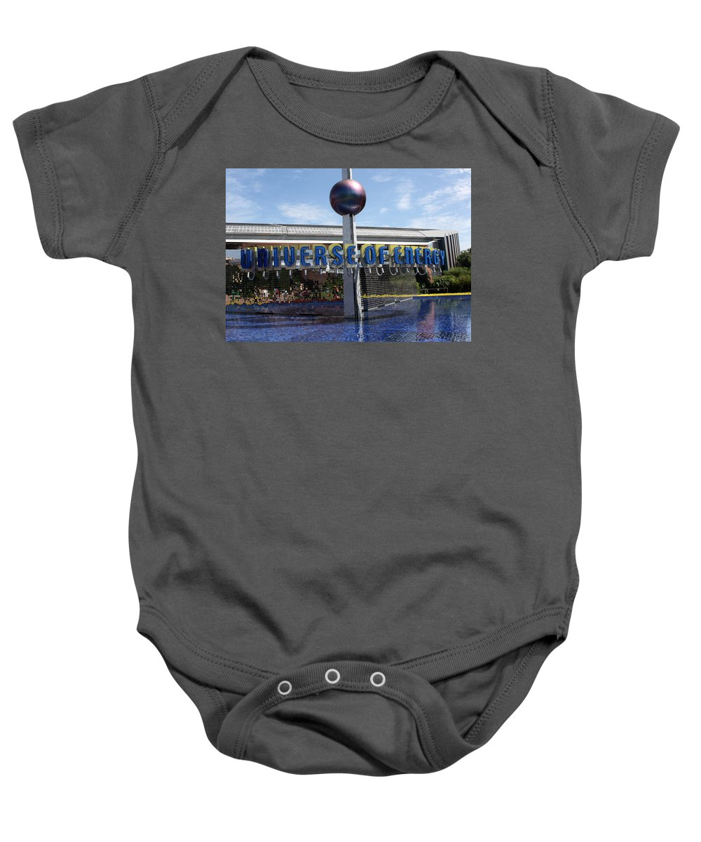 Walt Disney Baby Onesie featuring the photograph Universe Of Energy by David Nicholls
