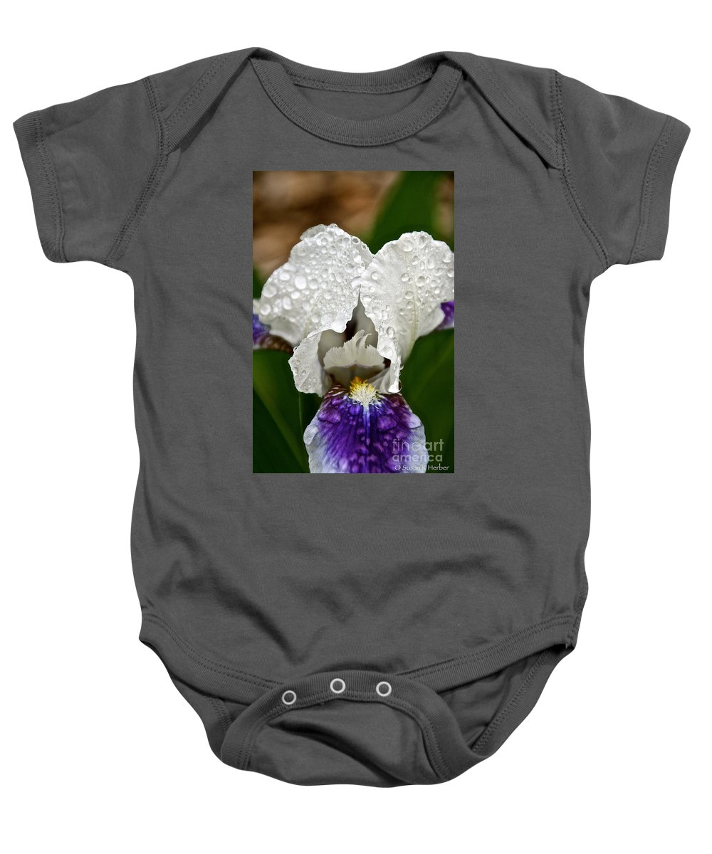 Flower Baby Onesie featuring the photograph Uplifting by Susan Herber