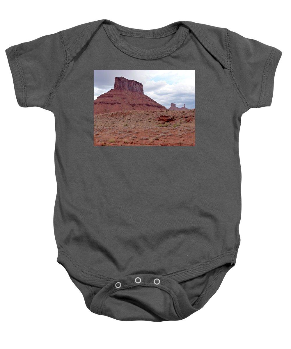 Landscape Baby Onesie featuring the photograph Utah Landscape by Susan Porter