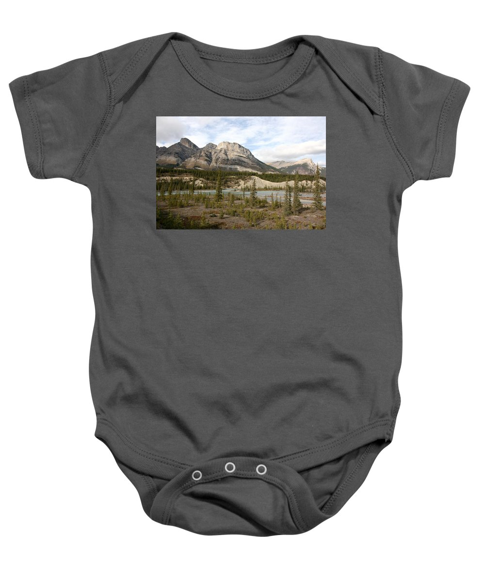 Nature Baby Onesie featuring the photograph Valley Crossing - Yoho National Park, British Columbia by Ian Mcadie