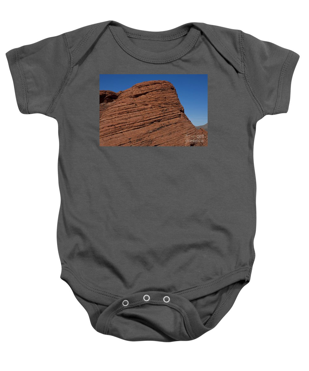 The Beehives Baby Onesie featuring the photograph Valley Of Fire State Park Nevada by Jason O Watson